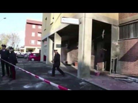 Ιταλία: Έκρηξη κοντά σε αστυνομικές εγκαταστάσεις