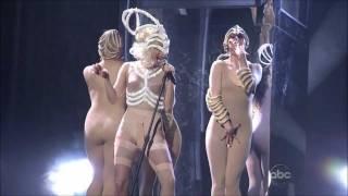 Lady Gaga - American Music Awards Bad Romance / Speechless live 2009 HD