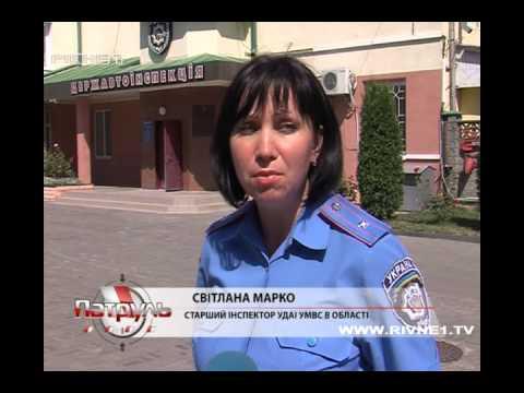 Упродовж вихідних на Рівненщині сталось 13 аварій [ВІДЕО]