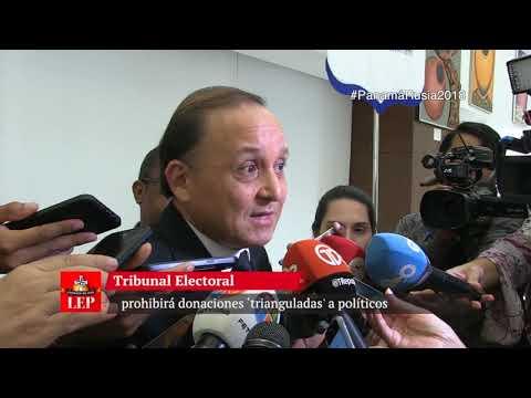 TE prohibirá donaciones 'trianguladas' a políticos
