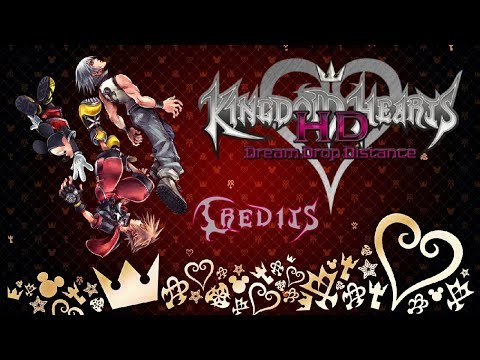 Let's Play Kingdom Hearts Dream Drop Distance Ending Credits and Sora's Thank You