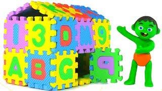 Video SUPERHERO BABIES BUILD AN ABC HOUSE ❤ SUPERHERO PLAY DOH CARTOONS FOR KIDS MP3, 3GP, MP4, WEBM, AVI, FLV April 2019