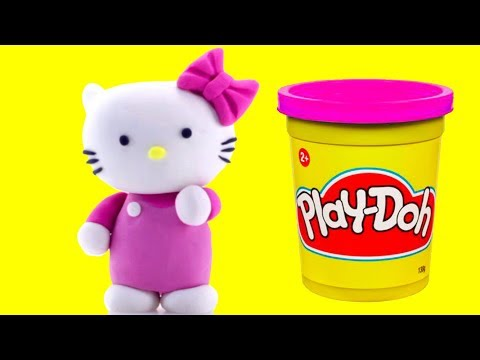 Hello Kitty Play Doh Stop Motion Animation Video Fun For Kids