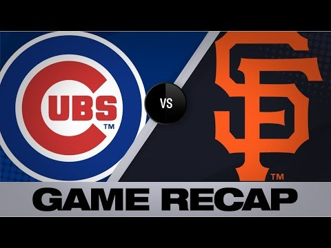 Video: Cubs use long ball in 4-1 win over Giants | Cubs-Giants Game Highlights 7/24/19