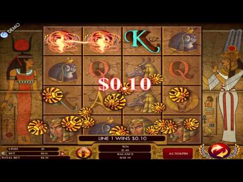 Gods of Giza™ slot machine by Genesis Gaming | Game preview by Slotozilla