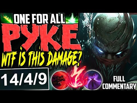 Reddit wtf - ONE FOR ALL PYKE  WTF IS THIS DAMAGE? THIS MODE IS MADNESS  5 PYKE VS 5 ZED  Season 8 Gameplay