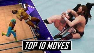 10 Amazing Daniel Bryan Moves In WWE Games! (WWE 2K19 Showcase Superstar)