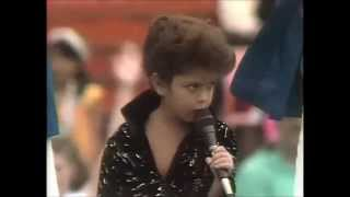 Bruno Mars performance at Aloha Bowl 1990