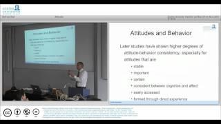 MOOC Social Psychology Lecture 4 Attitudes