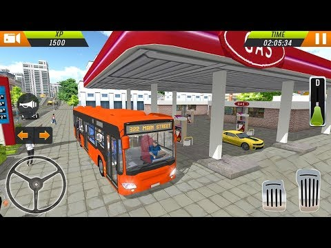 Euro Bus Driving Simulator 2018 by Racing Games Android Gameplay HD