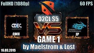 EP vs CDEC, game 1