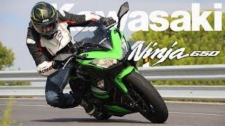 8. Kawasaki Ninja 650 2017 Prueba / Test / Review [Full HD]