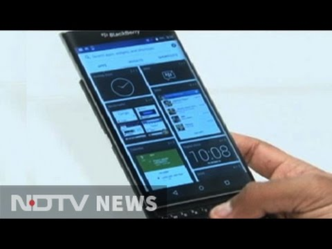BlackBerry's Android journey begins
