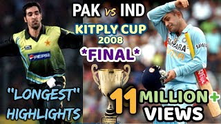 Video KITPLY Cup *FINAL* --- INDIA vs PAKISTAN || THE MOTHER of ALL FINAL in WORLD CRICKET || 2008 DHAKA MP3, 3GP, MP4, WEBM, AVI, FLV Mei 2019