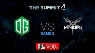 OG vs Mineski, game 2