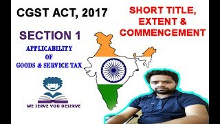 A DETAILED ANALYSIS ABOUT  SECTION 1 OF CENTRAL GOODS AND SERVICE TAX ACT 2017. A DETAILED DISCUSSION ABOUT INDIA AND WHY JAMMU AND KASHMIR EXCLUDED FROM APPLICABILITY OF CENTRAL GOODS AND SERVICE TAX ACT 2017.  Click the below mentioned list for download the notes on above videohttps://drive.google.com/file/d/0B5EKuR1vpMbhSm11aU94bzRPc3M/view?usp=sharing