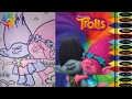 I Dream Works- Trolls - Poppy and Branch Coloring