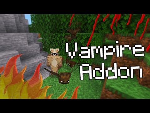 Beware of The Sun In Minecraft! [Vampire Addon] W/Download