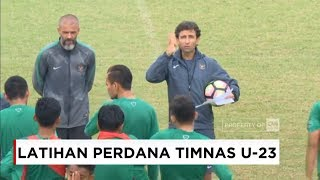 Video Latihan Perdana Timnas Indonesia U-23, Luis Milla Gembleng Timnas MP3, 3GP, MP4, WEBM, AVI, FLV Maret 2018