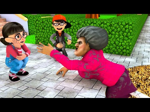 Scary Teacher 3D - Nick and Tani - Troll Miss T - House flooded |VMAni Funny|