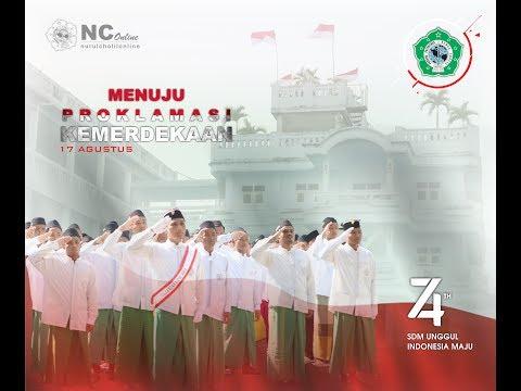 Cuplikan upacara HUT RI 74 Pon-Pes Nurul Cholil