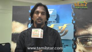 Cinematographer Jayakumar at Athithi Movie Team Interview