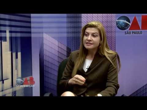 OAB na TV On Line – nº 42 – 12ª SUBSEÇÃO OAB/SP – ENTREVISTADA – Dra. Camila Magrini da Silva.
