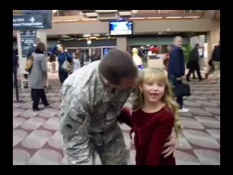 Папа неожиданно вернулся с войны (video)