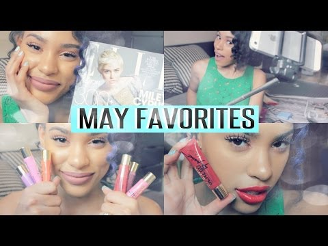 May Favorites – Purple Hair, Selfie Stick, Me in Elle Mag, Juice Cleanse