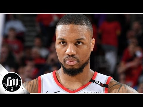 Damian Lillard's contract situation has the Blazers in a difficult spot | The Jump