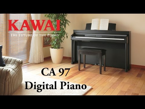 KAWAI CA97 Digitalpiano DEMO - DEUTSCH