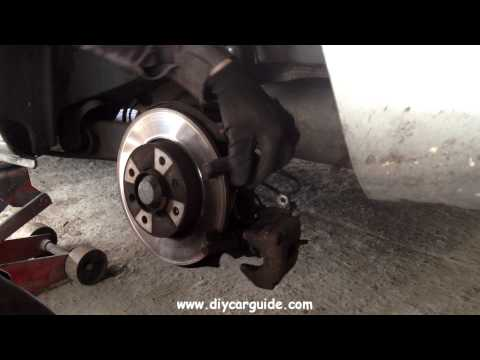 Peugot 307 Rear Brake Pads Replacement