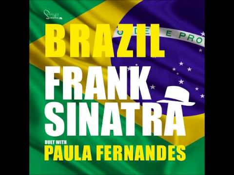 Paula Fernandes grava com Frank Sinatra