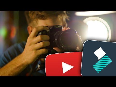 YouTube Videos schneiden mit Filmora - Videoschnittsoftware Tutorial!