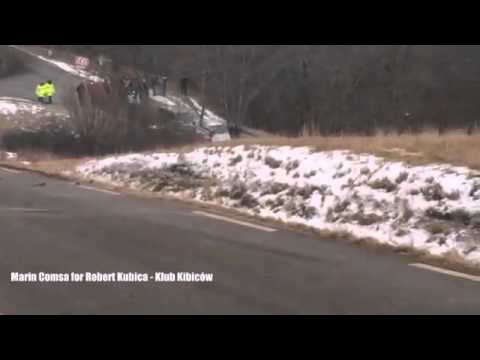 "Robert Kubica - SS8 - ""incredible speed"" Rallye Monte-Carlo 2015"