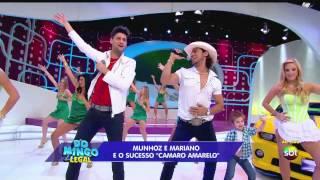 image of (HD) Munhoz e Mariano Camaro Amarelo no Domingo Legal