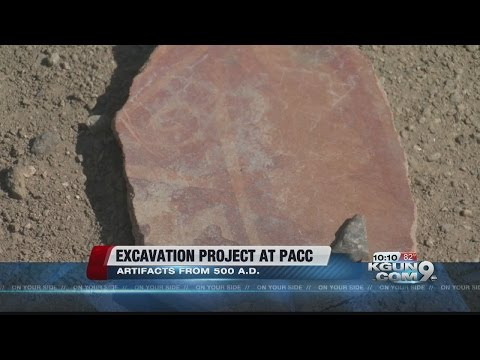 Artifacts unearthed at PACC excavation site