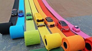 Video HELLO CARBOT SLIDE PLAY COLOR TISSUE 헬로카봇 컬러 휴지 미끄럼틀 타요 MP3, 3GP, MP4, WEBM, AVI, FLV Juni 2018