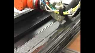 Aplicación OEM Teroson Robot Flat Stream Door