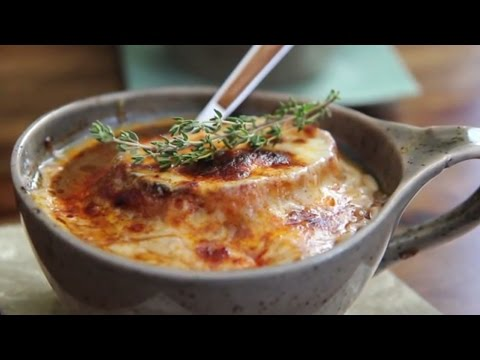 Soup Recipes – How to Make French Onion Soup