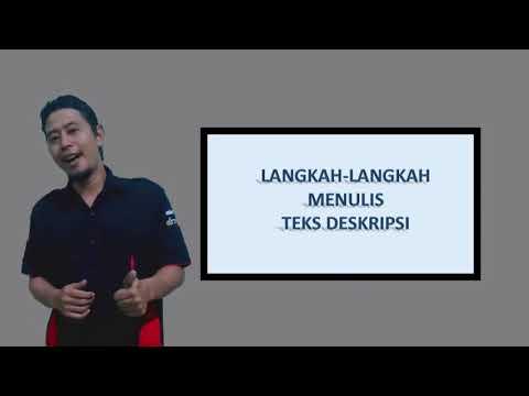 Langkah/Cara Menulis Teks Deskripsi (GANDOK KREATIF)