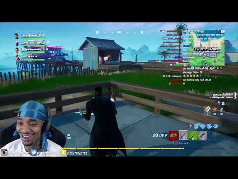 FlightReacts runs into sweat stream snipers in NEW Fortnite bundle update & then..