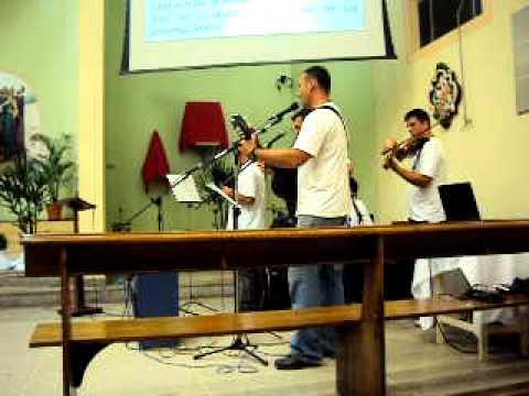 17 de abril de 2011 na Igreja Matriz Santana em Canelinha SC 6