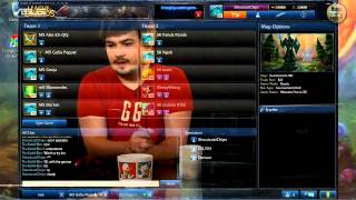 (HD154) Kings of Europe Pools Day - League Of Legends Replay [FR] Part 2/4
