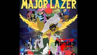 Major Lazer(Ft Tyga, Bruno Mars & Mystic)「Bubble Butt」