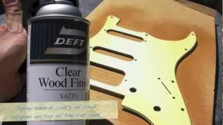 Video How to do an Aged (Relic'd) Finish on a Strat Pickguard MP3, 3GP, MP4, WEBM, AVI, FLV Juni 2018