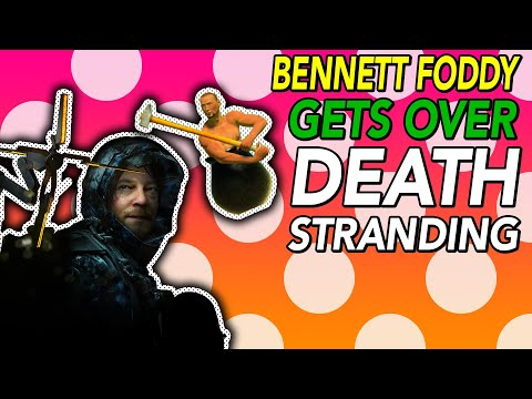 Bennett Foddy GETS OVER Death Stranding (with Tim Rogers)