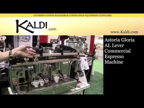 Astoria Gloria Lever Propane Powered Commercial Espresso Machine - Kaldi.com