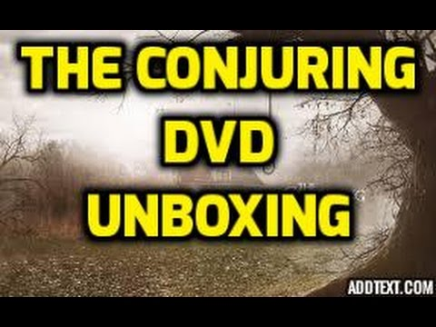 The Conjuring (DVD) Unboxing