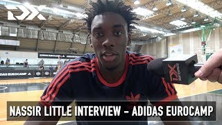 Nassir Little Interview - Adidas Eurocamp